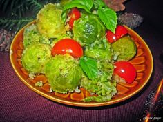 Gosia gotuje: Brukselka z orzechową panierką