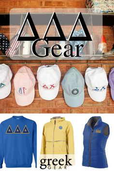 Greek Gear is the place to shop for Delta Delta Delta gear and gifts. Check out our t-shirts, long sleeve tees, hats, jackets, sweatshirts, accessories and more!