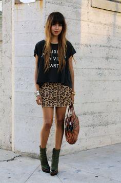 l.o.v.e her dark bangs and lighter locks