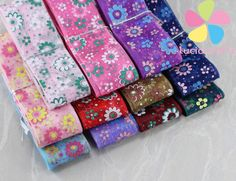 25mm Multi colors options Printed Organza Ribbon DIY Garment Sewing Accessories 040044073 Ribbon Diy, Cheap Ribbon, Ribbon Storage, Organza Ribbon, Cute Headbands, Sewing Accessories, Pretty And Cute, Gift Bags, Craft Stores