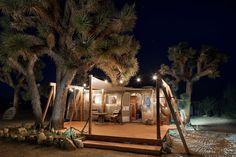 in Joshua Tree, United States. Our 1964 vintage Airstream will transport you back to another era when the Beatles were stars and cell phones were sci-fi dreams. Open skies, mountain views and moon gazing awaits you on this peaceful 5 acres of desert land.  Come loose yourself a...