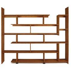Shelving Design | Cool Shelving Unit Furniture Design Innovative Bamboo Staggered Shelf ...
