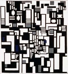 Artist: Theo van Doesburg (1833 - 1931) Dutch artist and head of the De Stijl movement that had architectual influences. Artwork: Card Players, 1917 Medium: oil Although there are many forms and shapes throughout the work the use of line conducts a harmonious balance. I chose this work based on the straight forward yet intricate use of line.