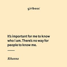 These Rihanna quotes will give you life. Wise worse from the music iconic, fashion legend, beauty entrepreneur, and of course, Queen of quotes. Self Quotes, Music Quotes, Love Quotes, Inspirational Quotes, Quotes About Self Worth, Rihanna Quotes, Fierce Women, Focus On Your Goals, Baddie Quotes