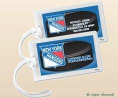 33291e2cc0 Pick your team - NHL Hockey Luggage Tag, Bag Tag, Backpack Tag, ID Tags,  Personalized, Custom