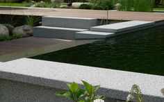 granite plates, granite water overflow, granite stairs, decking massaranduba