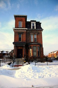 Italianate/Victorian Home  Brush Park, #Detroit
