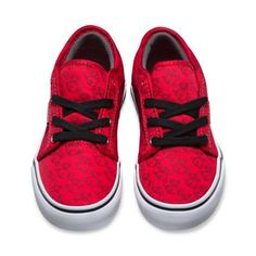 VANS | CHUKKA LOW (NINTENDO) SHOES (RED/BOB-OMB)