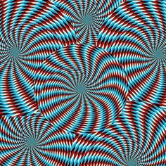 Spinning Wheels illusion