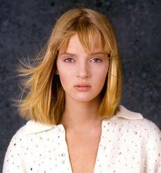 Uma Thurman - mid 1980s