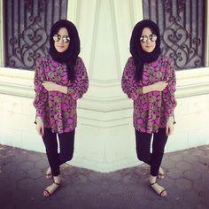 hijab style -  Dina Tokio