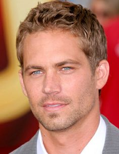 Paul Walker - not many blonde make me list ...
