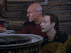 Picard and Data Star Trek Data, Star Trek Tos, Star Wars, Alone In A Crowd, Watch Star Trek, Classic Sci Fi, Star Trek Voyager, Data Protection, Tv Shows