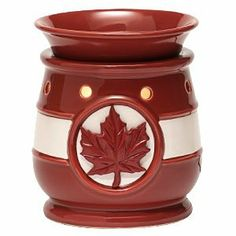 Scentsy O Canada Full-Size Scentsy Warmer PREMIUM by Scentsy. $45.00. Scentsy Wickless candle system uses a low-watt bulb to slowly melt specially formulated wax. No flame, smoke, or soot. A safe way to enjoy more than 80 Scentsy fragrances!. Share your love of country with a dramatic representation of the Canadian flag. This heritage-red and white warmer features a boldly debossed maple leaf.