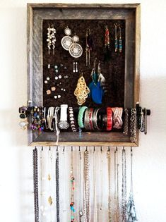 Custom Handmade Jewelry Organizer by AfterTheLeavesFall on Etsy
