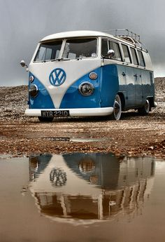 Camper at Camber by Aircooledbenny - SC Automotive Photography, via Flickr