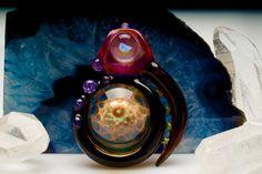 "ID Glass ""Power Amulet"" Pendant $ 215"