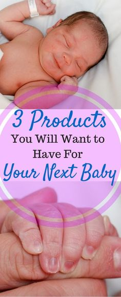 I am so grateful for all of the advances in technology that have taken place since my first baby was born. Here are three products that I wish I had with my first two babies and that I WILL have with my next baby.