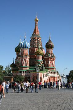 Russian Orthodox Cathedrals in Russia | ... Basil Cathedral, Russian Orthodox, Red Square, Moscow, Moscow Russia
