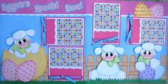 Special+Easter+Premade+Scrapbook++Pages++by+CreatedScrapsofLove,+$38.99