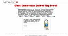 Find unlimited CommentLuv enabled Blogs by this easy trick.
