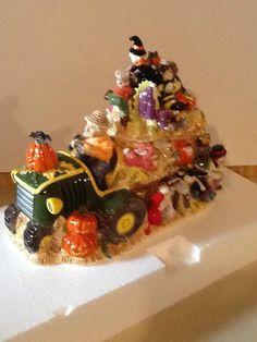 Halloween Hayride Limited Edition of 800 Cookie Jar by Fitz & Floyd