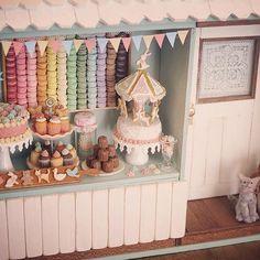 Miniature patisserie shop♡ ♡ By pansbear