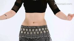 How to Do Interior Hip Circles | Belly Dancing