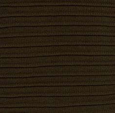 Pleaded Knit - Brown Throw