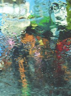 Photograph or painting! Lovely watercolor reflection...