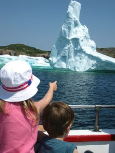 Take a Selfie with an Iceberg in Newfoundland!