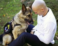 Jason Haag's life was being destroyed by PTSD until he met German Shepherd Service K9 Axel.
