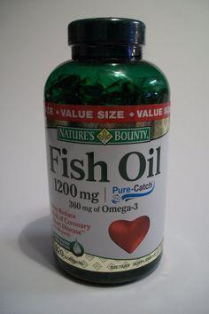Nature's Bounty Omega-3 Fish Oil 1200 mg Soft gels 320 Brand New #NaturesBounty
