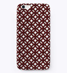 Red Rings Phone Case Geometric Products from Geometric Wishes Red Rings, Iphone Phone Cases, Design Art, Products, Gadget