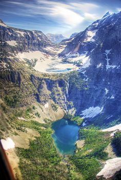 30 Amazing Places on Earth You Need To Visit Part 2 - Beaver Chief Falls, Glacier National Park, Montana, USA