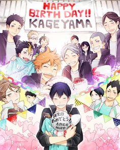 Kageyama's smile is super cutee