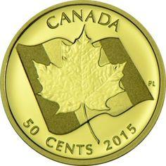 0,50 Dollar Gold Ahornblatt PP