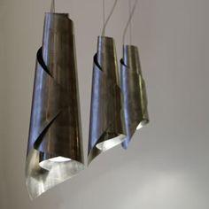 Design hanglampen  roestvrij staal