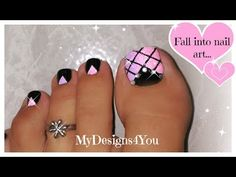 French Manicure Nail Designs, Toenail Art Designs, Pedicure Designs, Simple Nail Art Designs, Best Nail Art Designs, Nails Design, Pretty Toe Nails, Cute Toe Nails, Toe Nail Art