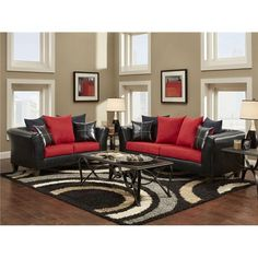 Red And Black Living Room Theme Curtains Designs Pictures For 31 Best Images Bedroom Decor House Tables Delta Furniture Manufacturing Cardinal