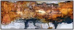 Bild: Marmormehl, Sumpfkalk, Aquarellmalerei, Tusche von Pewe bei KunstNet