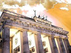 'Berlin, Brandenburger Tor' von Dirk h. Wendt bei artflakes.com als Poster oder Kunstdruck $18.03