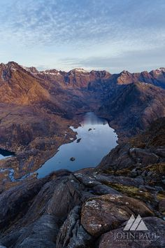 Loch Coruisk from the summit of Sgurr na Stri