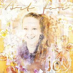 ART FOR JOY: Portrait of me, colourpencils & watercolorlook on photo of me. My greatest joy is art so i created this page. I made this with LIDC Essence 1 & Essence 1 Add-on by Idees de Christine, available at Pixels and Art Designs
