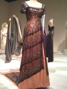 "Evening gown ""Rose"" wore to dinner from the movie Titanic"