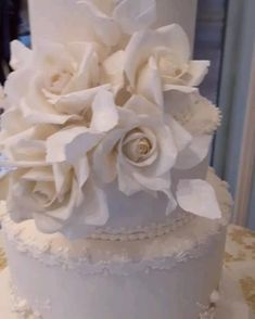 A four tier ivory wedding cake with my signature cherub design. Delicate hand piped details and individually handmade ivory sugar roses. Ivory Wedding Cake, Luxury Wedding Cake, Wedding Cakes, Luxury Cake, Sugar Rose, Creative Desserts, Wedding Cake Designs, Cake Tutorial, Cake Creations