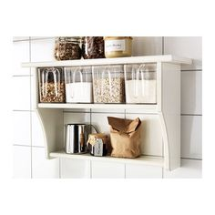STENSTORP Wall shelf with drawers  - IKEA