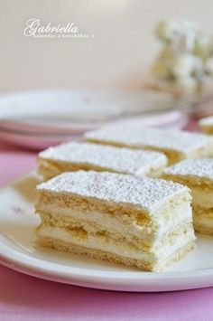 Hófehérke Hungarian Cake, Hungarian Recipes, Sweet Cookies, Cake Cookies, Something Sweet, Winter Food, Vanilla Cake, Cake Recipes, Sandwiches