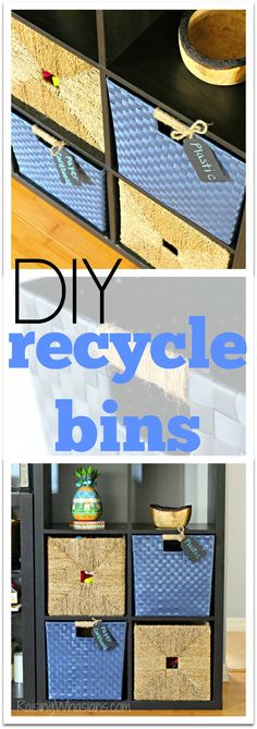 How to Make Recycling Fun for Kids + DIY Recycle Bins