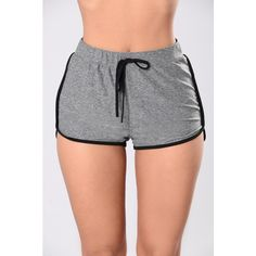 Just Kickin' It Shorts - Charcoal/Black from Fashion Nova. Shop more products from Fashion Nova on Wanelo. Dope Outfits, New Outfits, Sport Outfits, Fall Outfits, Summer Outfits, Fashion Outfits, Women's Fashion, Mini Shorts, Nightgown Pattern